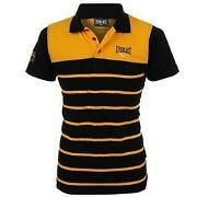 Black Yellow Striped T Shirt