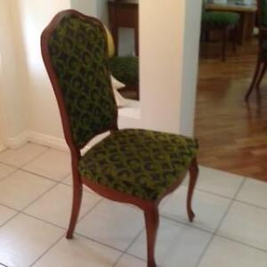 8 Berryman dining covered chairs recently upholstered Sylvania Sutherland Area Preview
