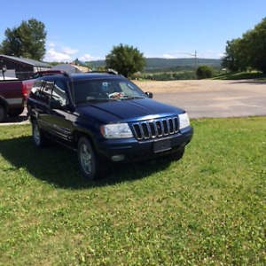 2002 Jeep Grand Cherokee Loaded SUV, Crossover