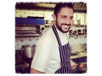 Restaurant Chef available for private hire, dinner parties and cooking classes. Private Chef