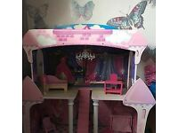 Large Dolls house with furniture