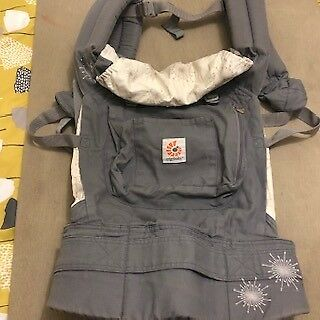 Ergobaby original and infant insert - AS NEW -BARELY USED