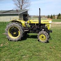 Older Yanmar tractor 240D
