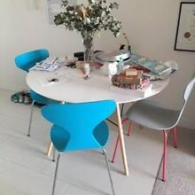 Dining table and 3 chairs suitable for small unit for sale Bowen Hills Brisbane North East Preview