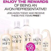 Become an Avon rep! Join my team!