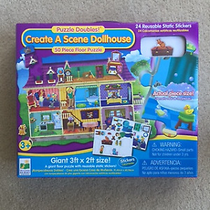 *NEARLY NEW* Cute dollhouse floor puzzle (50 pieces)