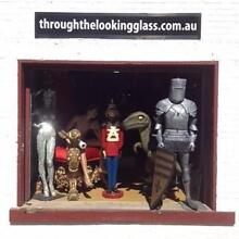 THROUGH THE LOOKING GLASS Event Themeing and  Prop Hire Wilston Brisbane North West Preview