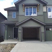 A brand new duplex in Orchards for rent