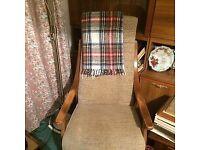 2 armchairs.