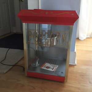 NEW popcorn machine!