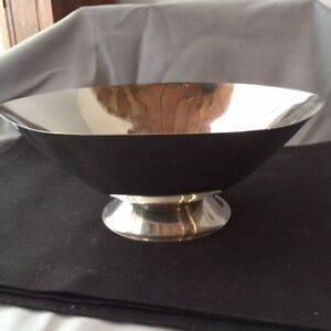 Vintage Ekco Eterna Mid-Century Stainless Steel Serving Bowl Kitchener / Waterloo Kitchener Area image 1
