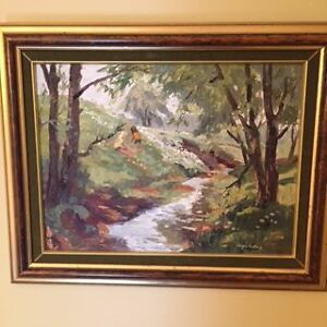 Original Oil Painting by Joyce Kellock