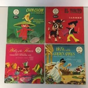 """Records 78rpm Stories """"Music Appreciation Series for Children"""" Yeppoon Yeppoon Area Preview"""