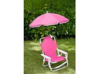 Kids Chair with Parasol