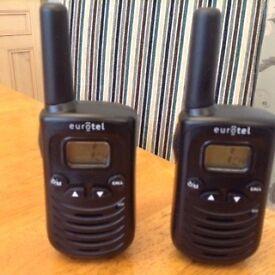 Two walkie Talkie/two way radio. 2 mile range. Still in box. Great Christmas present.In Penwortham