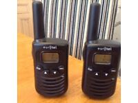 Two walkie Talkie/two way radios. As new Still in box. Great Christmas present.In Penwortham