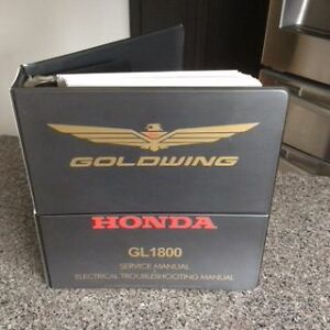 Honda OEM 1800 Gold Wing Shop Manual