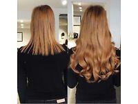Micro Weft Hair Extension - Micro Loop Ring Hair - La Weave Hair Ex - Nano Ring Hair-Pre-bonded Hair