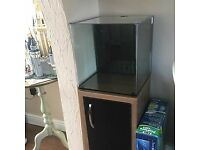 Aqua Nano 40 with cabinet and JBL CO2 planted aquarium set