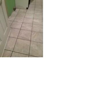 REGROUT YOUR FLOOR TILES