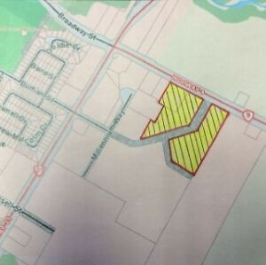 Part lot 8 & 9 Durham St. Ext, Kincardine - 18.4 Acres