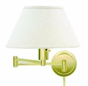 NEW HOUSE OF TROY SWING-ARM WALL SCONCE #1 WITH SHADE