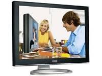 XEROX XM7-22W 22'' LCD Monitor wide 5MS DVI BLACK/SILVER Hard Glass