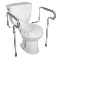 Barre d'appui pour toilette West Island Greater Montréal image 1