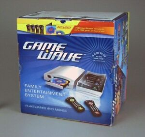 New GAME WAVE FAMILY ENTERTAINMENT SYSTEM