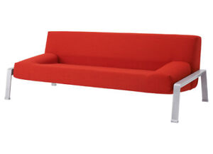 Ikea Erska Futon Sofa - Orange