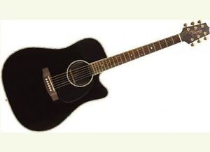 Takamine EG361SC Solid Top Acoustic Electric w/case