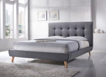 Brand New Premium Quality Fabric Queen/King Bed from $42 P/W | Beds ...