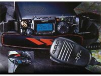 Yaesu ft817nd amatuer / cb radio 0-30mhz 2m+70cm