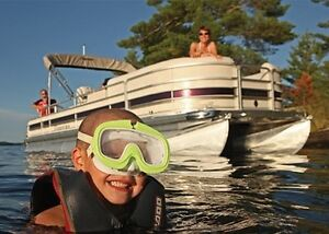 Patio Pontoon Boat Lake Cruises & Tours or Rentals