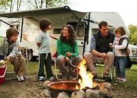 RV Trailer RENTALS *Experience Camping* Patio Boat Cruise-Tours