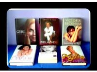 FEMALE SINGER - BIOGRAPHIES - 6 TITLES - FOR SALE