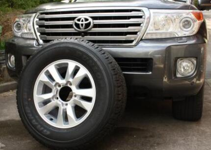 New Toyota Land Cruiser 200 series, 17 '' alloy rim + new tyre Adelaide CBD Adelaide City Preview
