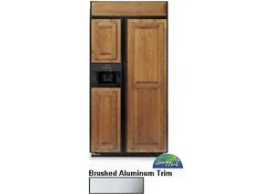 """Kitchen Aid 42"""" Ready Panel Side-By-Side Built-In Refrigerator"""