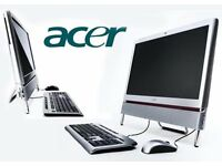 acer computer 23 inch touch screen 4gig 500hdd