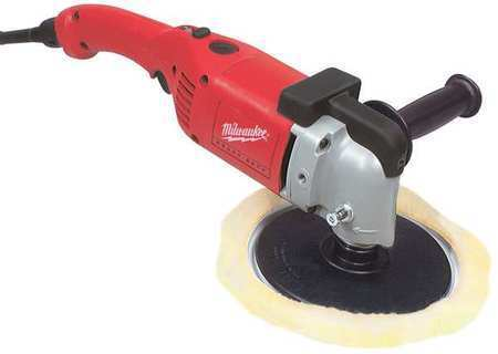 MILWAUKEE 5540 Right Angle Polisher,7 In,RPM 0-2800