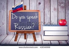 RUSSIAN CLASSES WITH NATIVE SPEAKER!