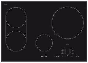 Surface de cuisson à induction de 30'' en Vitro céramique, noire, Jenn-air