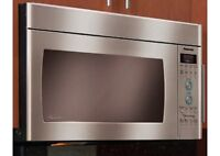 OVER THE RANGE MICROWAVES STAILESS STEEL BLOW OUT SALE !!!