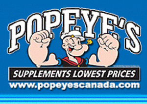 POPEYE CARTE PRODUITS NATUREL - POPEYE NATURAL PRODUCT GIFT CARD