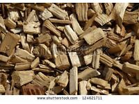 Woodchips for gardens or riding arenas!