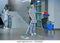 EXPERIENCED CLEANERS FOR BANKS, CLINICS & OFFICES