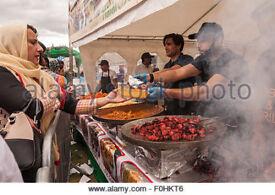 Great Establish Asian Kebab Market Stall Business for Sale - Established 1995