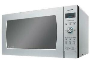 Panasonic® NNSD980S 2.2 Cu. Ft. Digital Countertop Microwave - Stainless Steel