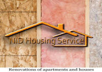 RENOVATIONS of apartments and houses
