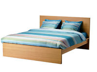 Ikea brown king (european) bed